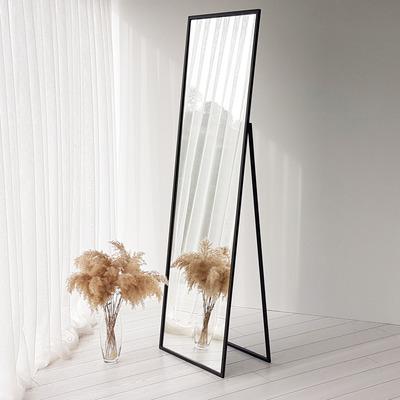 Standspiegel / Wandspiegel Cool | Schwarz