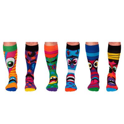 Herren Geschenkbox 6er Pack Socken Funk Heads   39-46