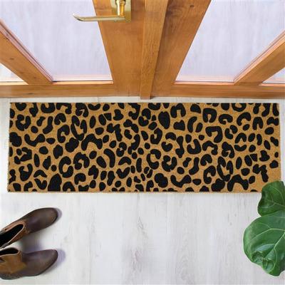 Fußmatte Patio   Leopard Print