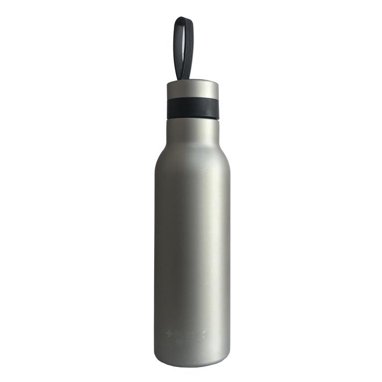 Thermo-Flasche | Grau