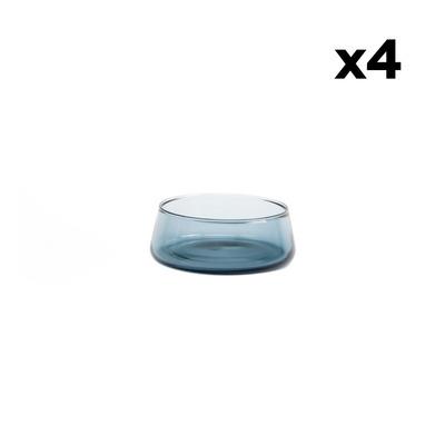 Set of 4 Bowls Host | Blue Grey