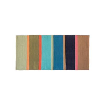 Cotton Rug Costa | Short Multicolour