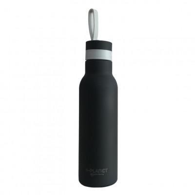 Thermo-Flasche | Schwarz