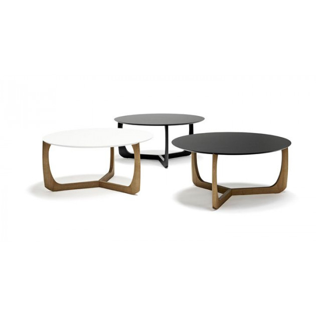 Lili Lounge Table   Oak/Black