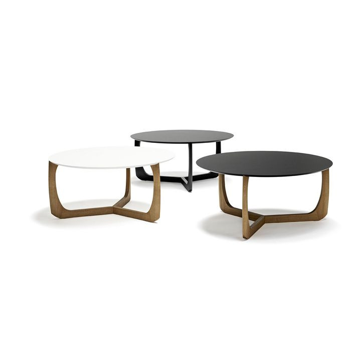 Lili Lounge Table | Black Lacquered Oak/Black