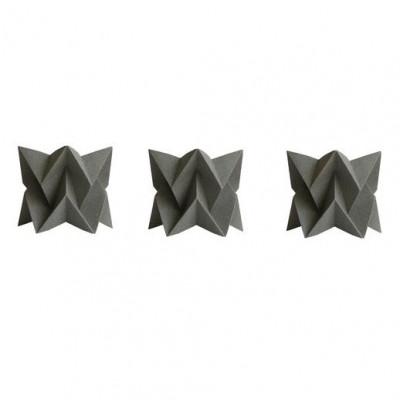 Set of 3 Tealights   3 x Grey