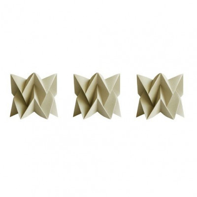 Set of 3 Tealights   3 x Taupe