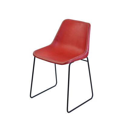 Stuhl Giron Niedrig - 48 cm | Rot