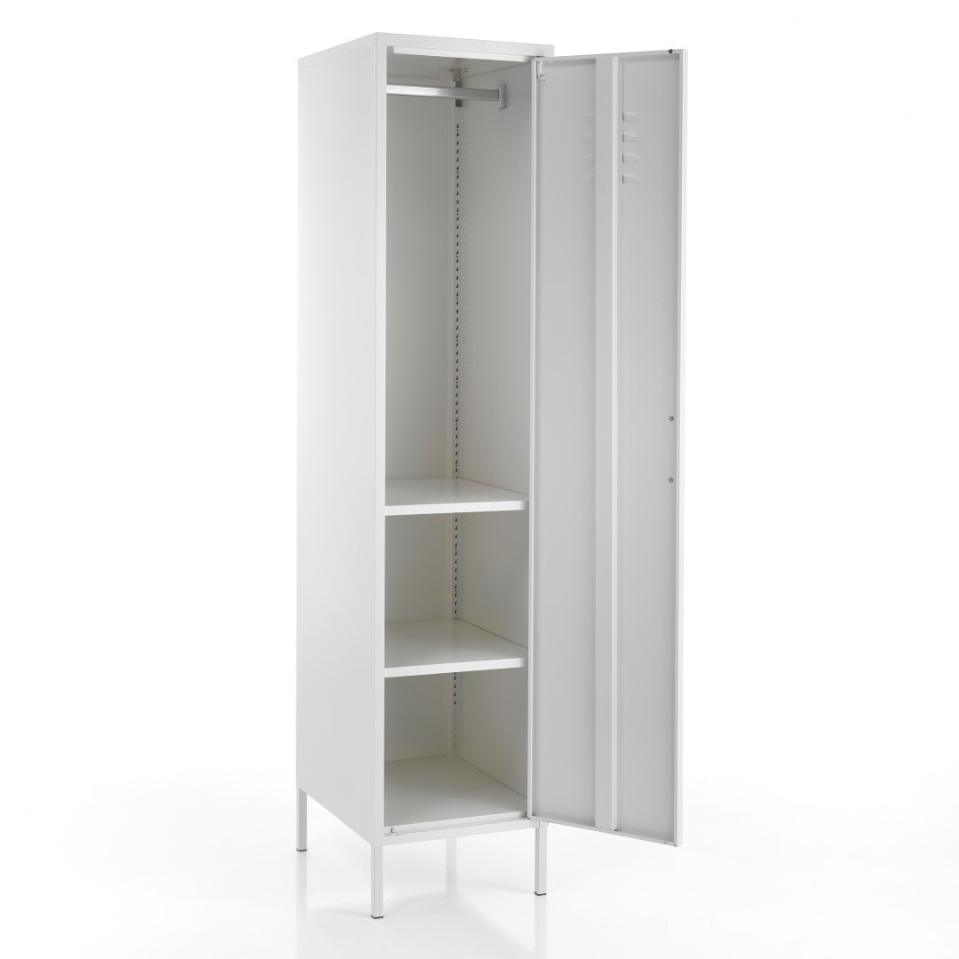 Cabinet Industrial   White