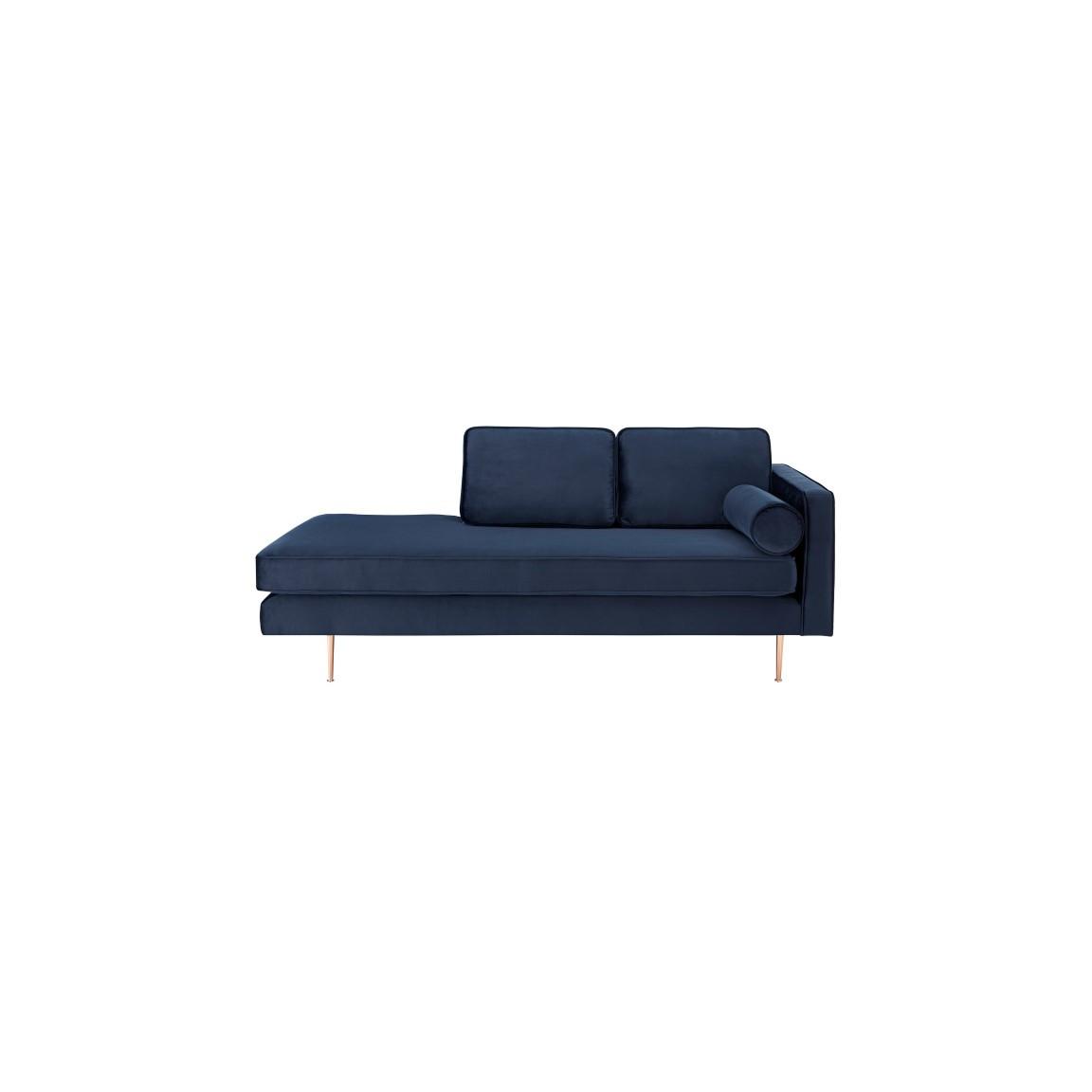 2-Sitzer-Sofa Rechts Eleonore | Blau