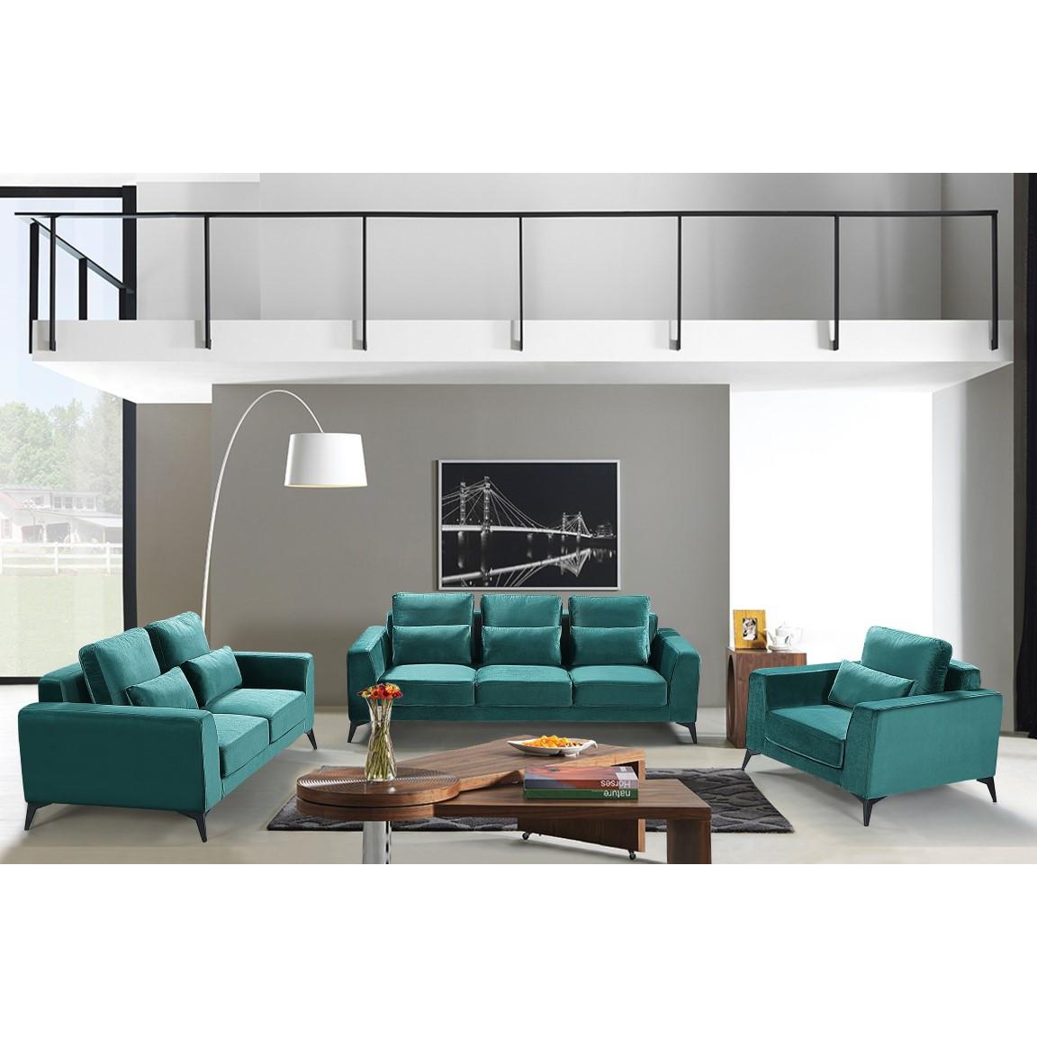 3-Sitzer-Sofa Enjoy 933 | Dunkelgrün