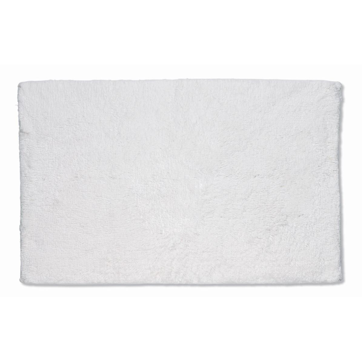 Badematte Ladessa Uni Weiß | 65 x 55 x 2 cm