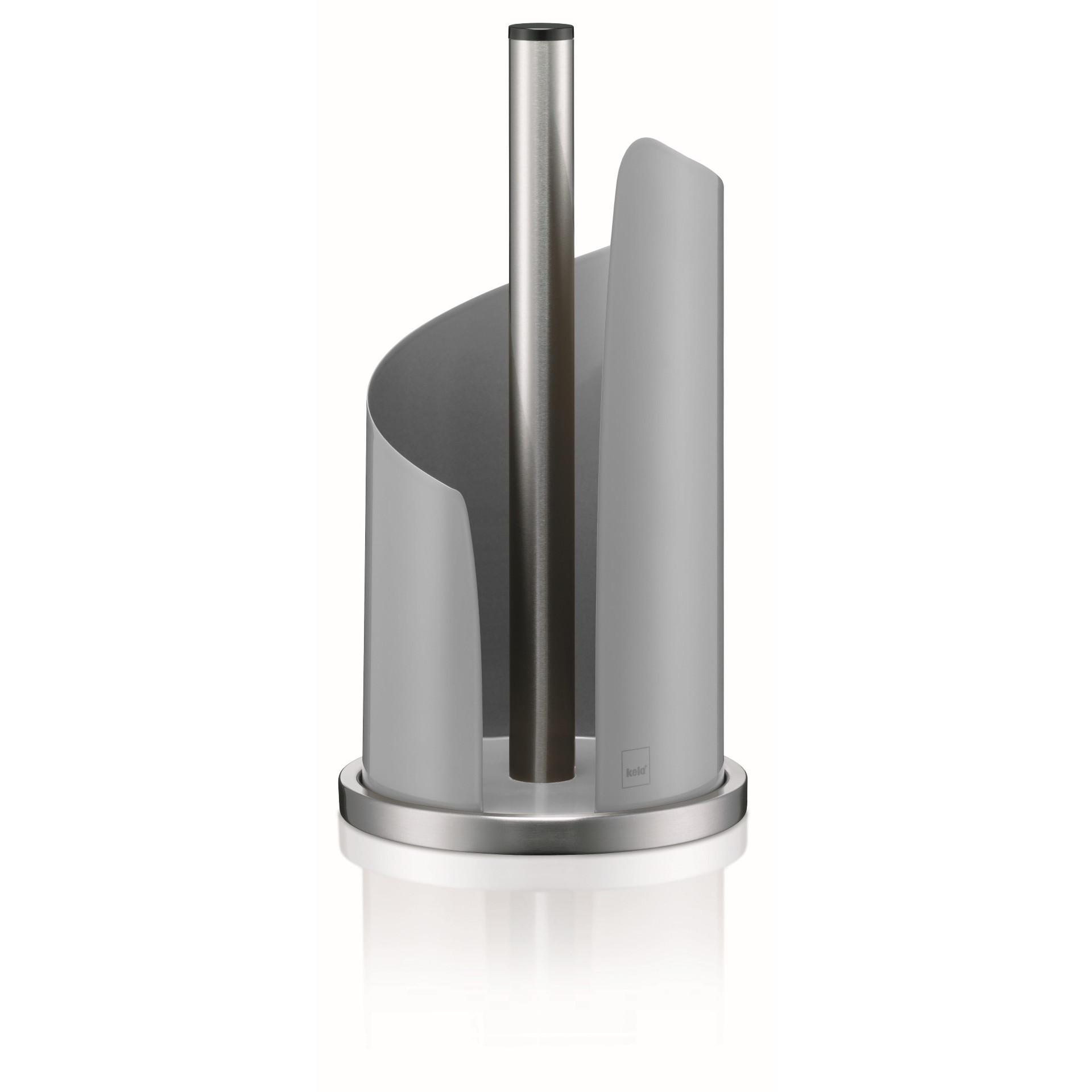 Küchenrollenhalter Ø 15 cm Stella | Grau