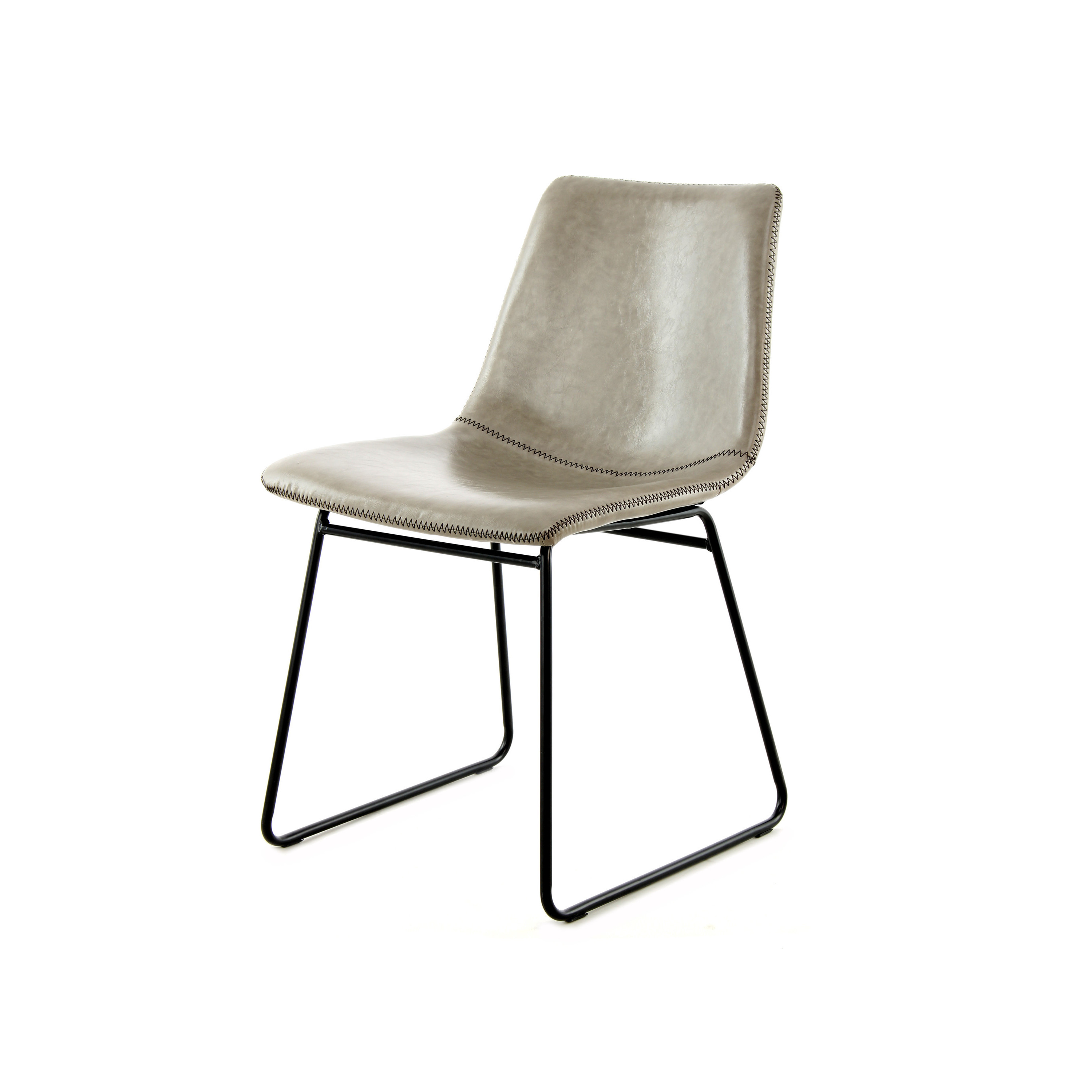 Set of 2 Chairs Liam | Grey