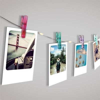 Photo Clips Lichterkette