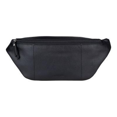 Hüfttasche Leder   Schwarz