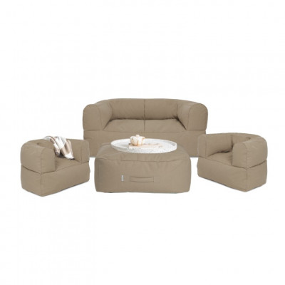 Outdoor-Loungeset 'Arm Strong' | Taupe