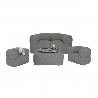 Outdoor-Loungeset 'Arm Strong' | Grau