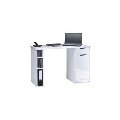 Computertisch 4008 | Icy-Weiß