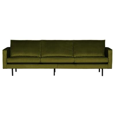 3 Seater Sofa Rodeo Velvet | Olive Green