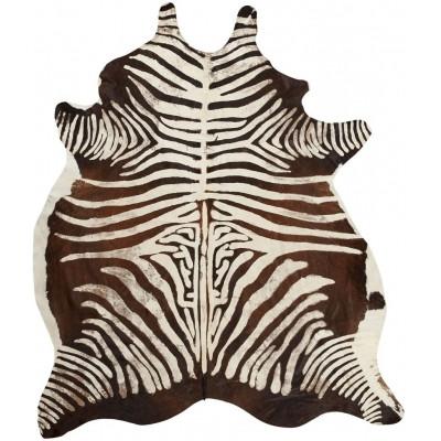 Rindsleder Zebra | Scharz & Weiß