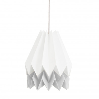 Stripe Lampshade | White & Grey