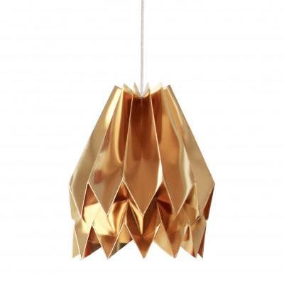 Plain Lampshade | Gold