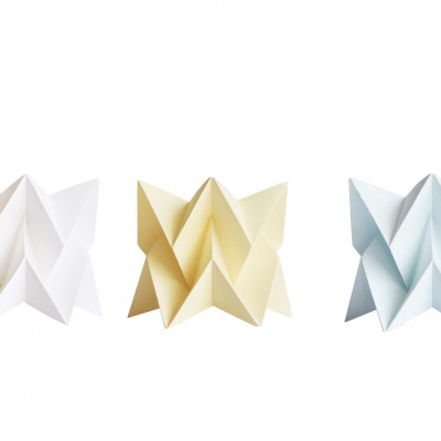 Set of 3 Tealights   White, Yellow, Blue
