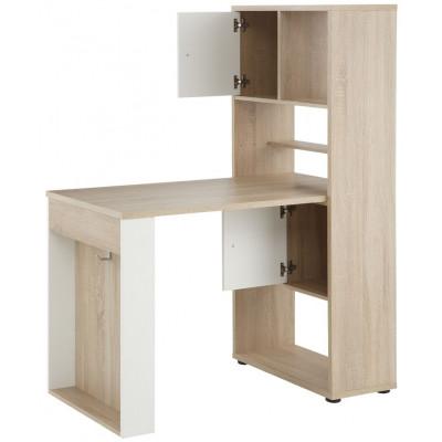 Mini Office 4014 | Sonoma Eiche / Weiß Matt