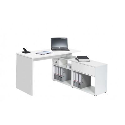 Computertisch 4019 | Icy-Weiß