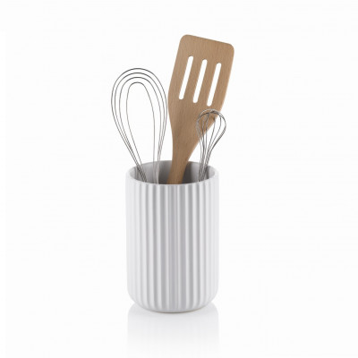 Küchenutensilien-Halter Maila   Weiß