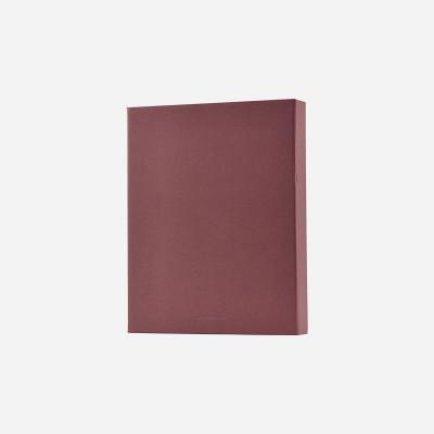 Ordner File | Burgund