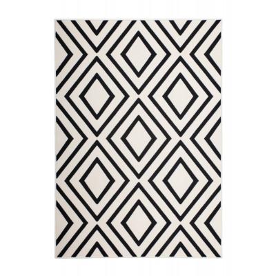 Rug Sentosa | Black & Ivory