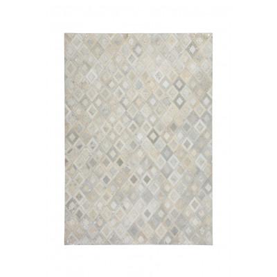 Teppich Dazzle 100 | Grau & Silber