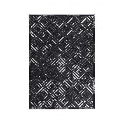 Teppich Dazzle 400 | Schwarz und Silber