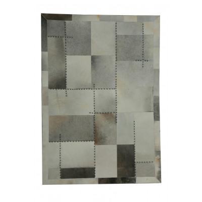 Teppich Napetta 222 | 170 x 120 cm | Mehrfarbig & Grau