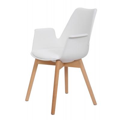2er-Set Stuhl Jamie | Weiß