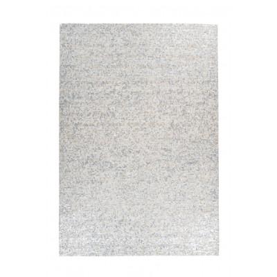 Teppich Finish 100 | Weiß & Silber