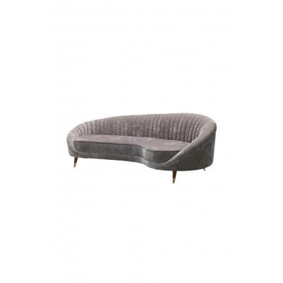 3-Sitzer-Sofa Caesar 333 | Silbergrau