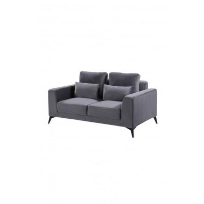 2-Sitzer-Sofa Enjoy 833 | Dunkelgrau
