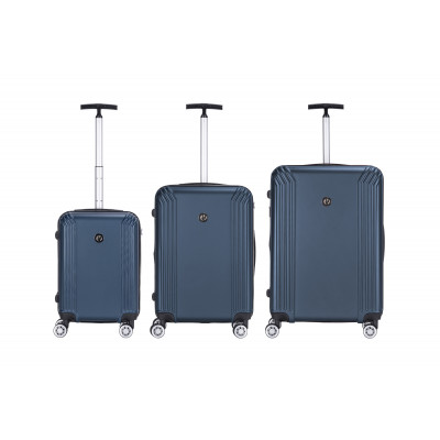 3er-Set Koffern Memphis 533   Blau