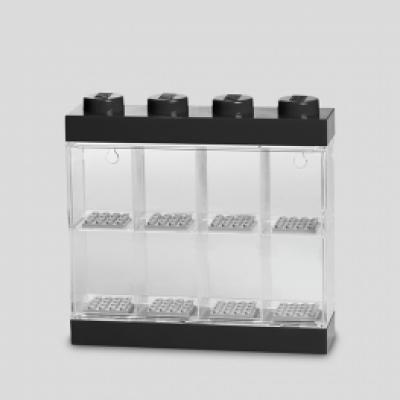 LEGO Minifiguren-Vitrine 8 Schwarz