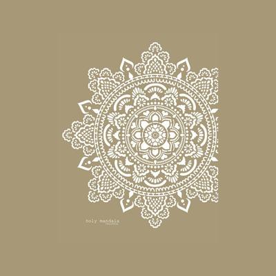 Schablone Mandala   Holy