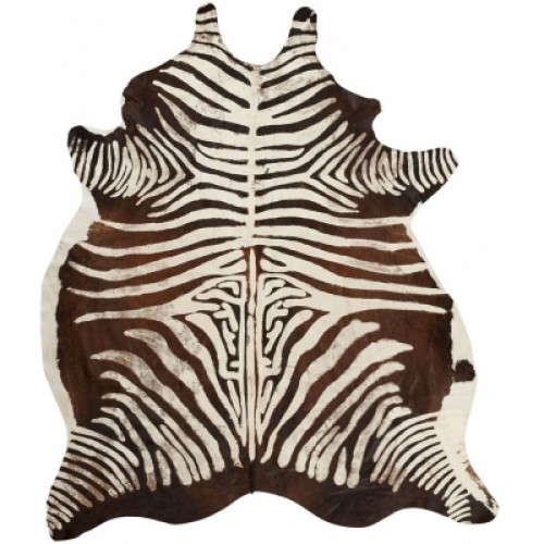 Rindsleder Zebra   Scharz & Weiß