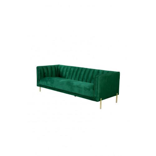 3 Seater Sofa Pittsburgh 533 | Green
