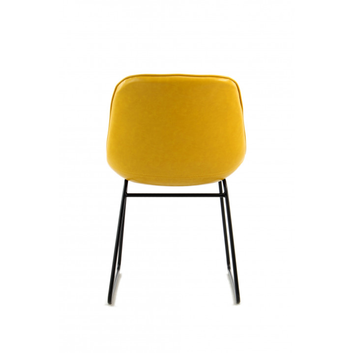 Chair Doris Set of 2   Yellow