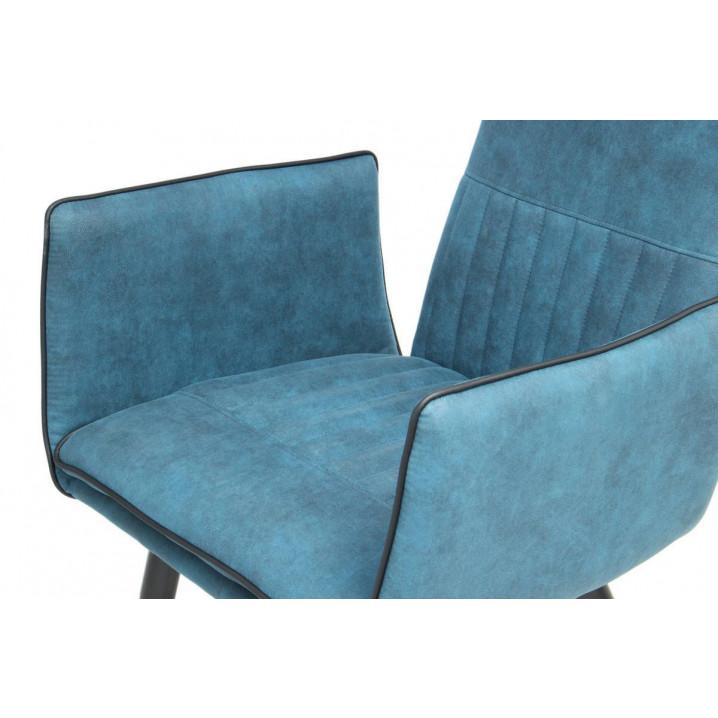 Set of 2 Chairs Penelope | Dark Blue