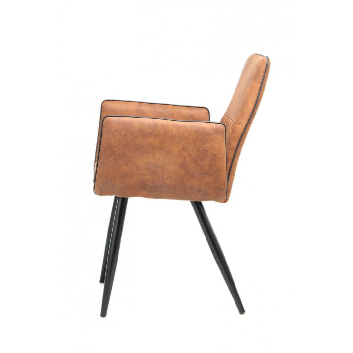 Set of 2 Chairs Penelope | Light Brown