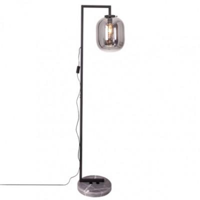 Stehlampe Leola | Rauchgrau