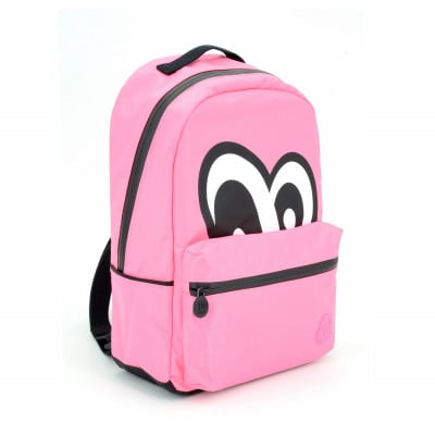 Eyes Backpack | Pink